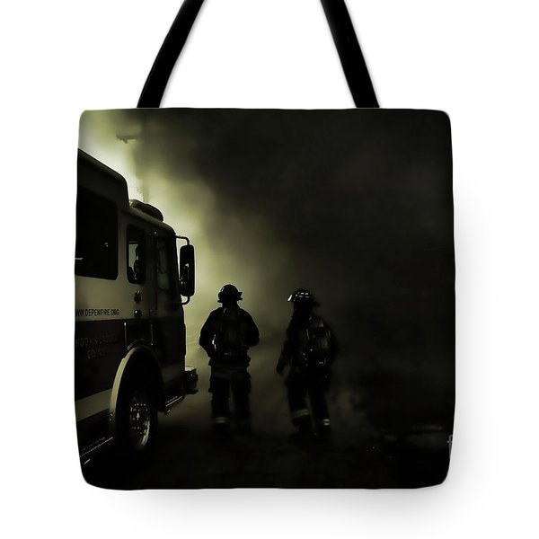 Into The Fight Tote Bag