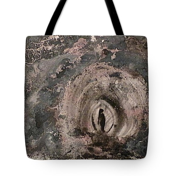 Tote Bag featuring the painting Into The Fog by 'REA' Gallery