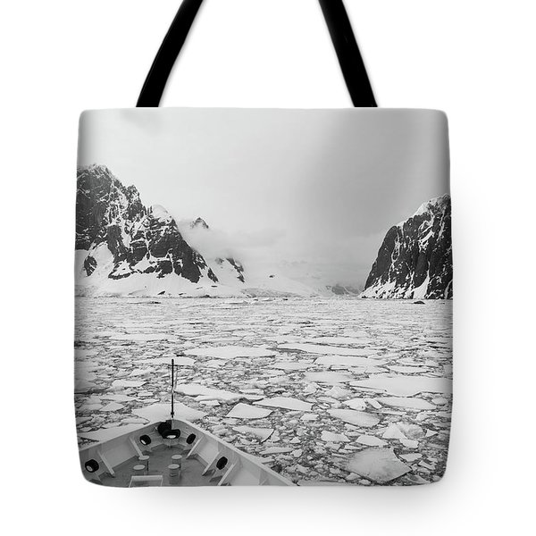 Into The Ice Tote Bag