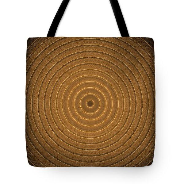 Intricate Complex Target Spiral Fractal Tote Bag