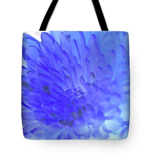 Inverted Flower Tote Bag