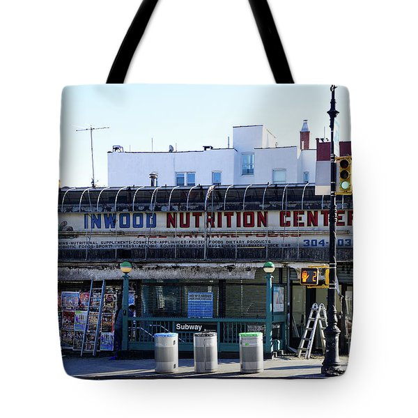 Tote Bag featuring the photograph Inwood Nutrition Center by Cole Thompson