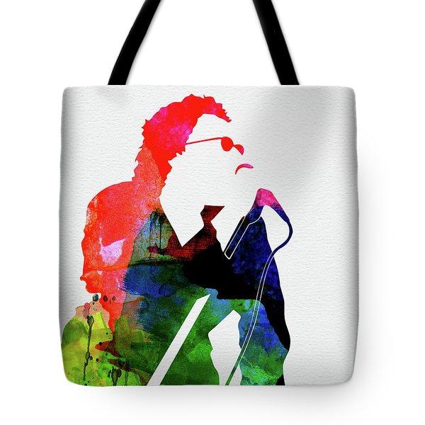 Inxs Watercolor Tote Bag