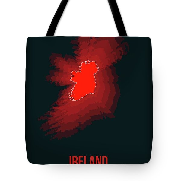 Ireland Radiant Map 1 Tote Bag