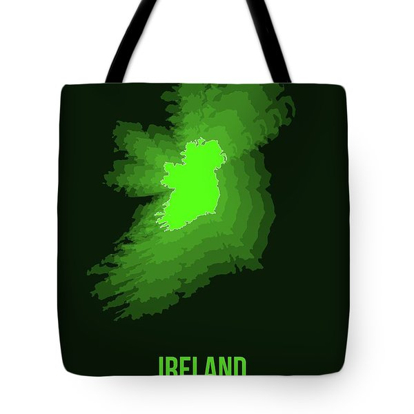 Ireland Radiant Map 2 Tote Bag