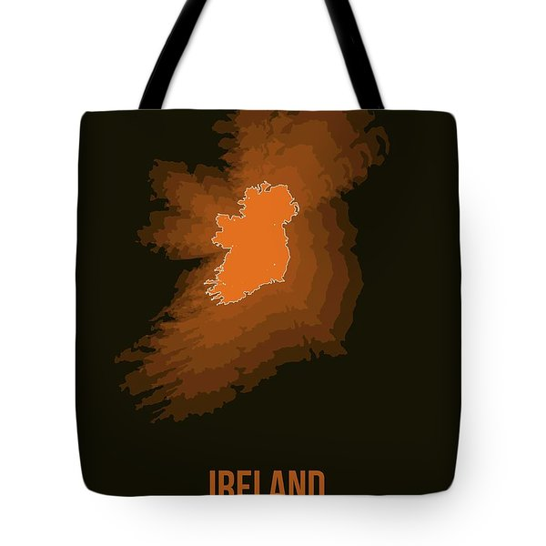 Ireland Radiant Map 3 Tote Bag