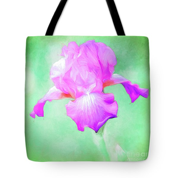 Iris Ready To Fly Tote Bag