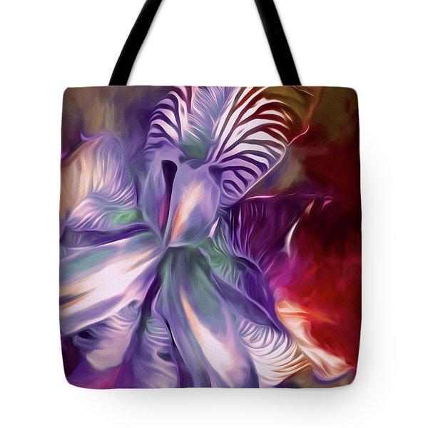 Iris Splendor 12 Tote Bag