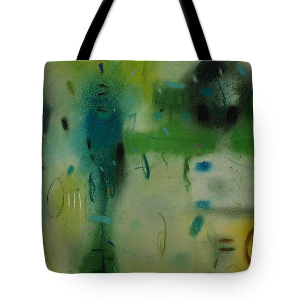 Tote Bag featuring the drawing Irish Rain by Camille Rendal