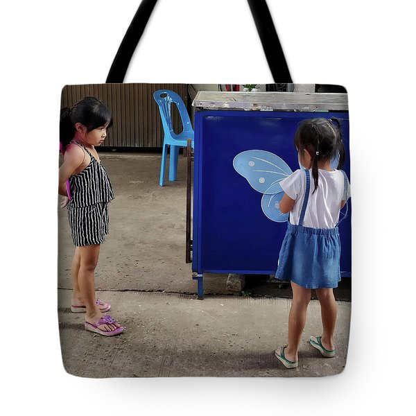 Is There Something Wrong With Your Wings Tote Bag
