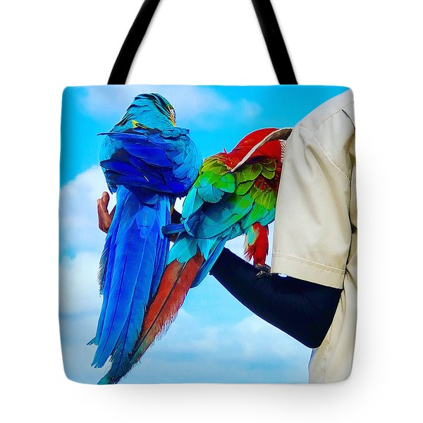 Island Birds  Tote Bag