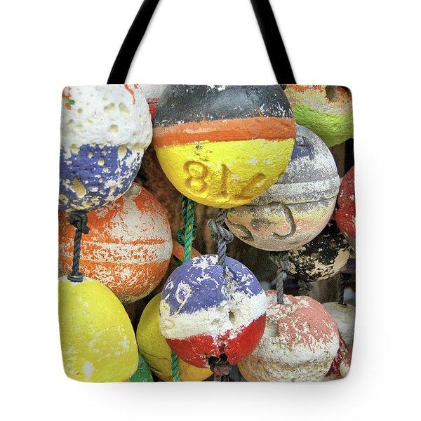 Island Buoys Tote Bag