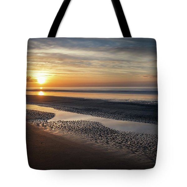 Isle Of Palms Morning Patterns Tote Bag