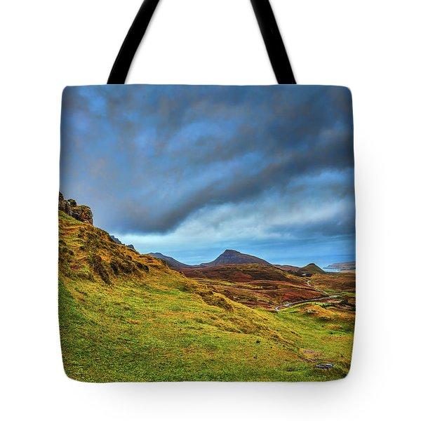 Isle Of Skye Landscape #i1 Tote Bag