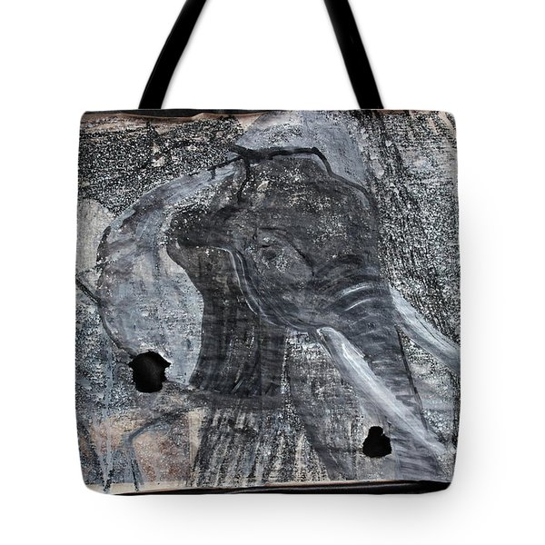 Isn't There Always An Elephant That No One Can See Tote Bag