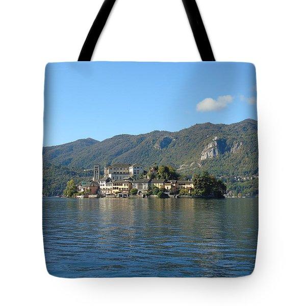 Isola San Giulio Tote Bag