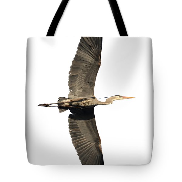 Isolated Great Blue Heron 2018-1 Tote Bag