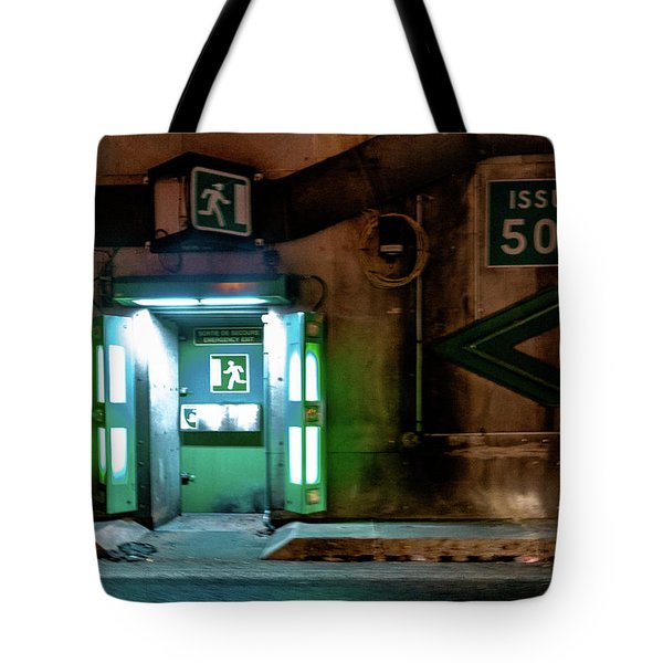 Tote Bag featuring the photograph Issue 504 by Randy Scherkenbach