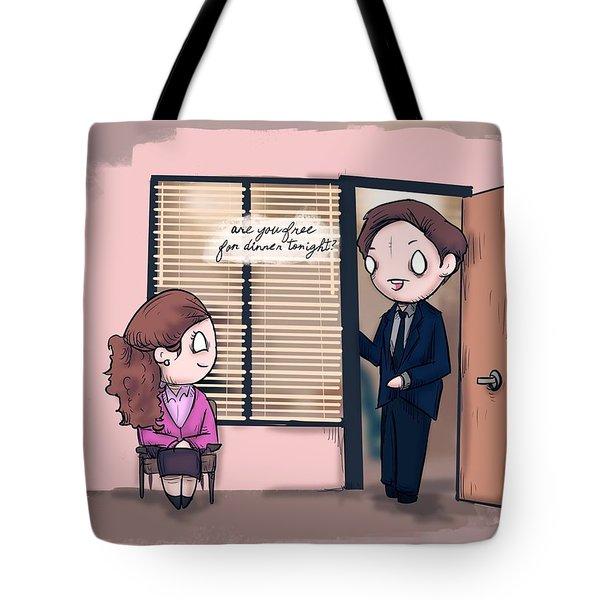 It's A Date Tote Bag