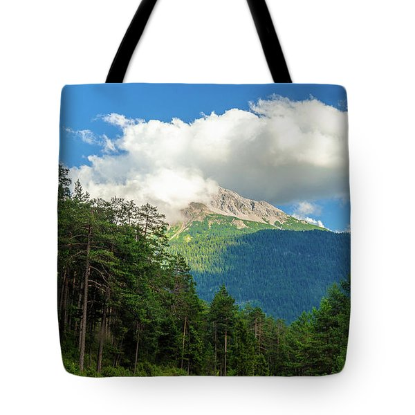 It's Cloudy Up In Here Tote Bag