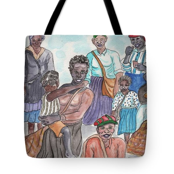 It's Cotton Picking Time At The Spangler Farm In South Alabama Tote Bag