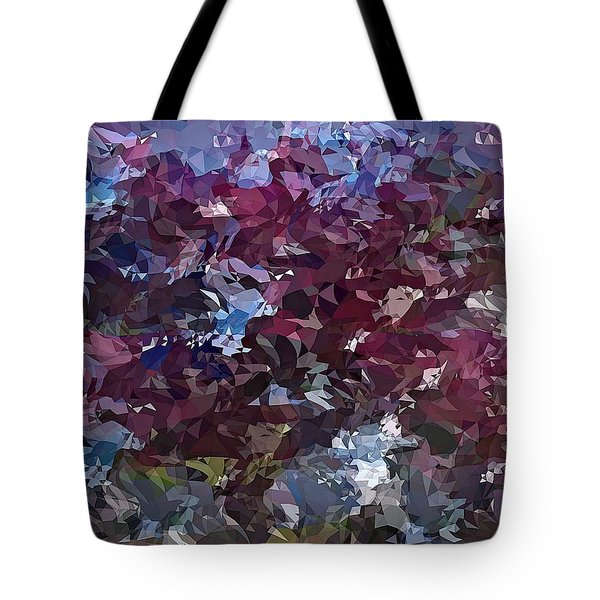 Tote Bag featuring the digital art It's Lilac by David Manlove