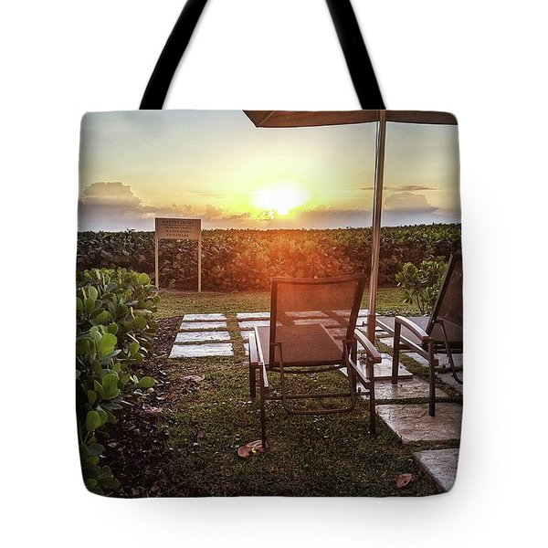 It's Morning Tote Bag