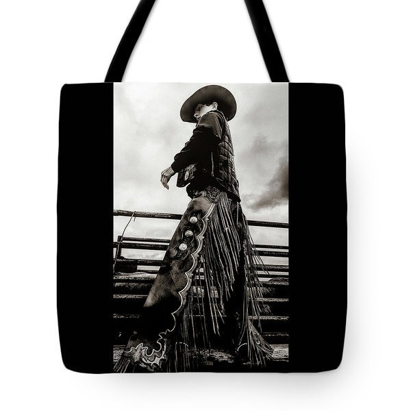 Its The Boots And The Chaps Tote Bag