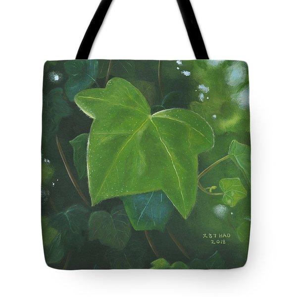 Ivy Waltz Tote Bag
