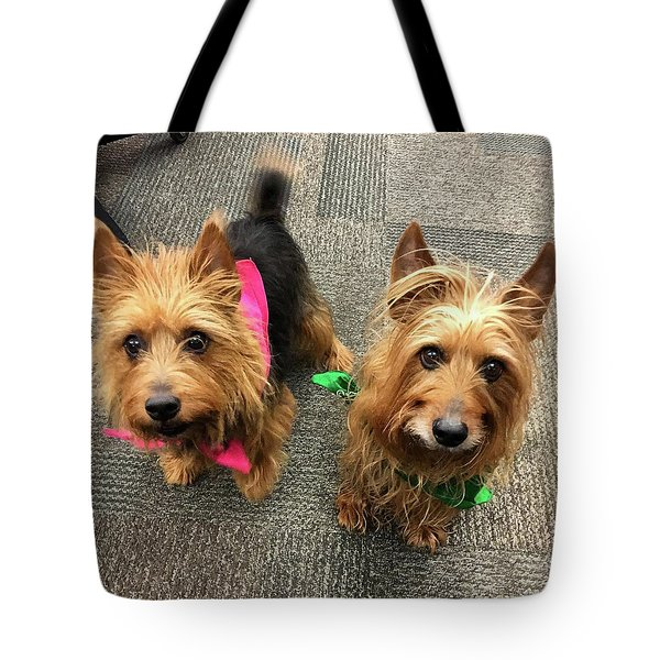 Jack And Lily Tote Bag