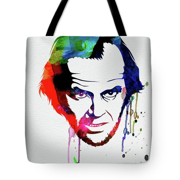Jack Watercolor Tote Bag