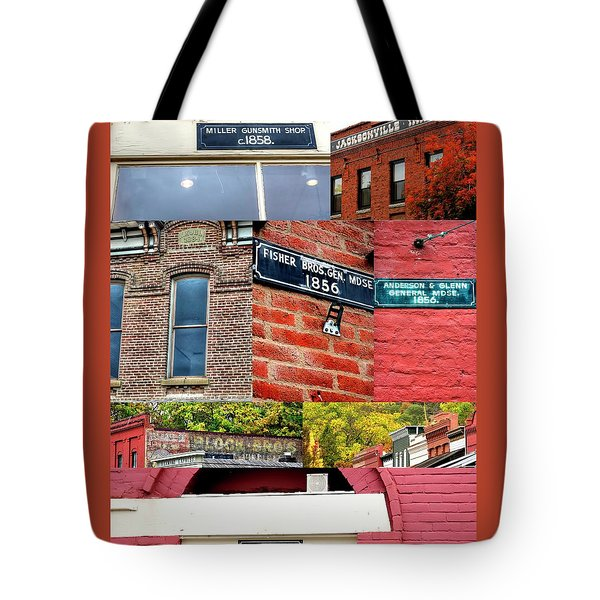 Tote Bag featuring the photograph Jacksonville Collage 1 by Jerry Sodorff