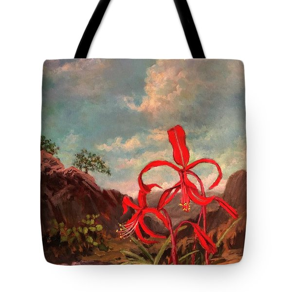 Jacobean Lily Of Mexico Tote Bag