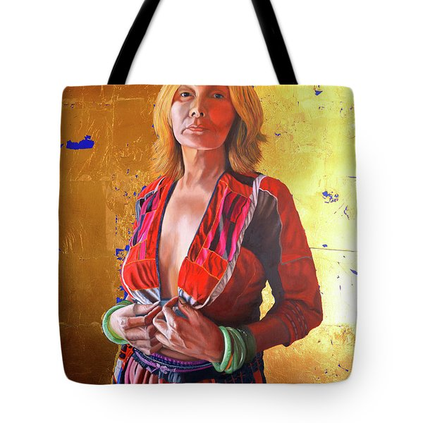 Jade Lady  Life On The Edge Tote Bag
