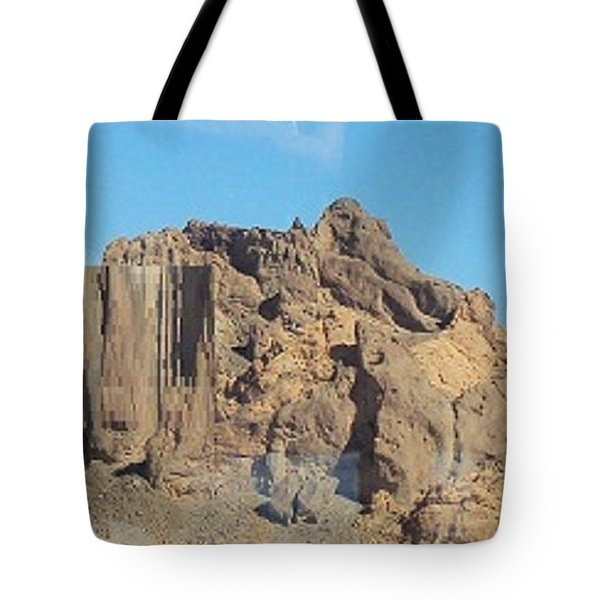 Jagged Rocks Tote Bag