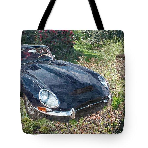 Jaguar E Type Tote Bag