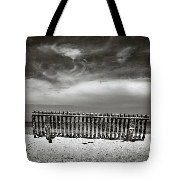 Jamaican Bench Tote Bag