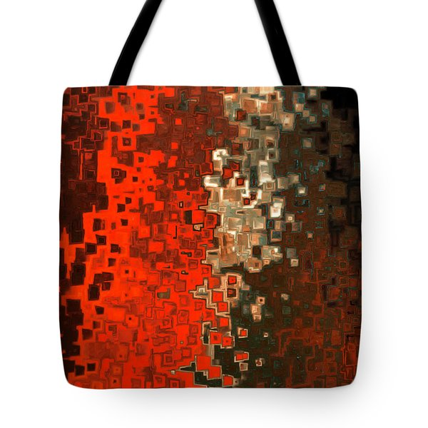 James 5 16. Praying For A Change Tote Bag