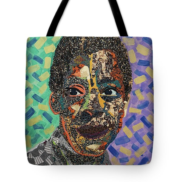 James Baldwin The Fire Next Time Tote Bag