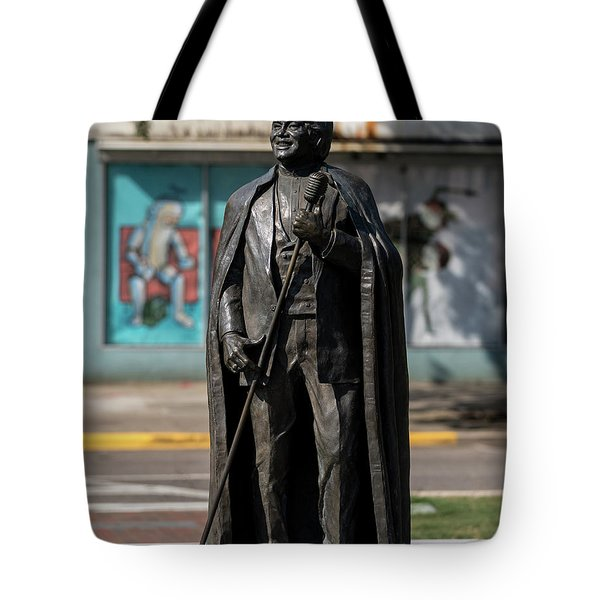 James Brown Statue - Augusta Ga 2 Tote Bag