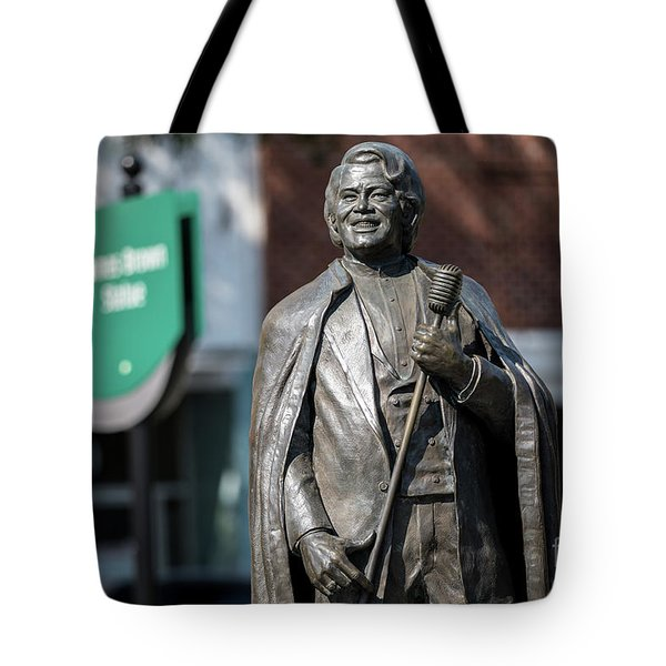 James Brown Statue - Augusta Ga Tote Bag