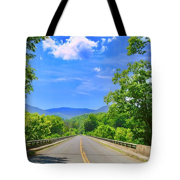 James River Bridge, Blue Ridge Parkway, Va. Tote Bag