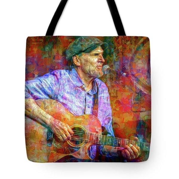 James Taylor Tote Bag