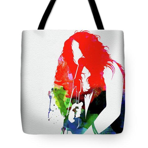 Janis Watercolor Tote Bag