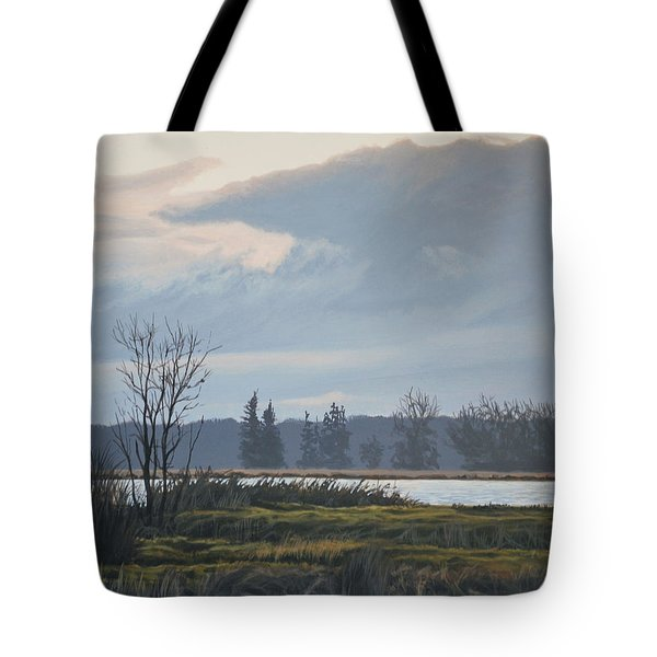 January Skies Tote Bag