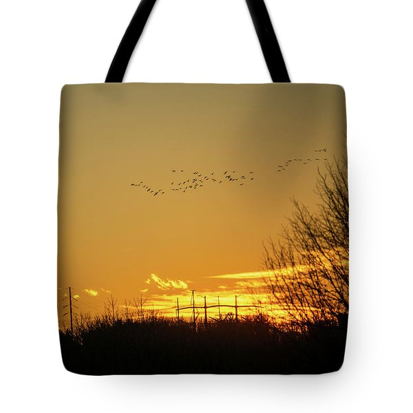 January Sunset - Lehigh Valley - Photography Tote Bag