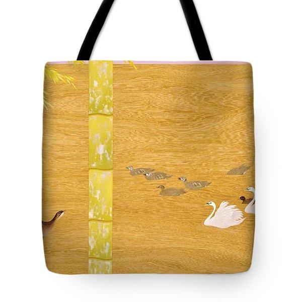 Japanese Modern Interior Art #121-part4 Tote Bag