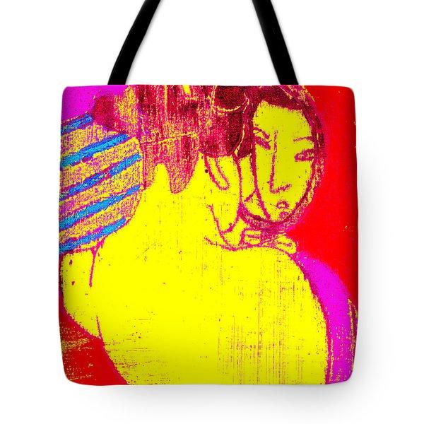 Japanese Pop Art Print 1 Tote Bag