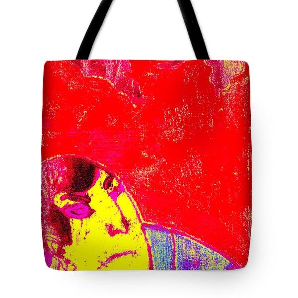 Japanese Pop Art Print 6 Tote Bag