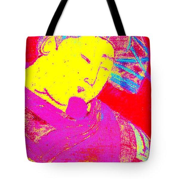 Japanese Pop Art Print 9 Tote Bag